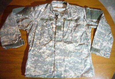 United States USA Army Combat Uniform Camo Military Coat Jacket Size Medium