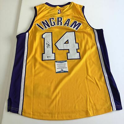 9266aba4bf9d Brandon Ingram signed jersey BAS Beckett Los Angeles Lakers Autographed