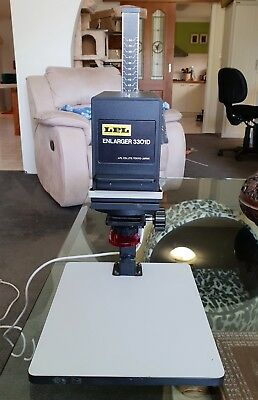 LPL 3301D Black and White 35mm Enlarger and Copy Stand Excellent Condition