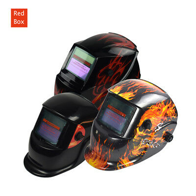Solar Auto Darkening Welding Helmet ARC TIG Grinding Welder Shield Mask New