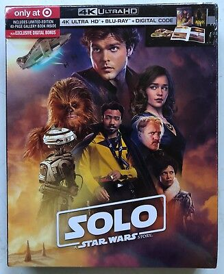 New Solo A Star Wars Story 4K Ultra Hd Blu Ray Digital Target Exclusive Digipack