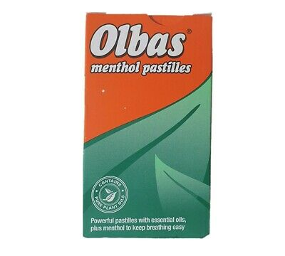 Olbas Pastilles 45g Clears The Head Soothes The Throat Bulk Buy sale 6 12 24 36