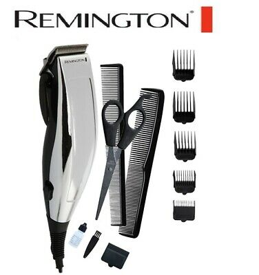 Remington Mens Hair Clippers Electric Haircut Trimmer Corded Shaver Grooming Set