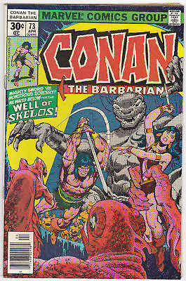 Conan The Barbarian #73, Very Fine Condition