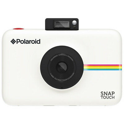 New Polaroid Snap Touch Instant Camera White