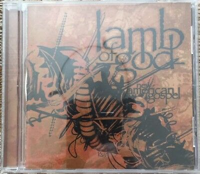 Lamb of God CD & DVD Collection 8 CDs, 3 DVDs USED