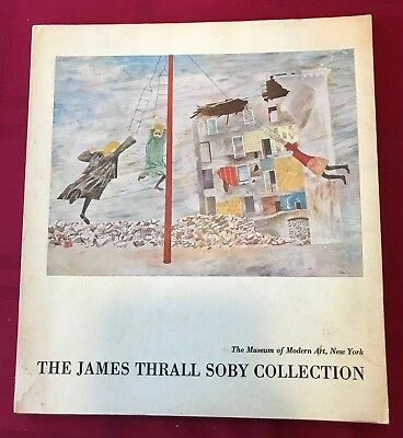 1961 The James Thrall Soby Collection MOMA Art Exhibition Catalog PICASSO