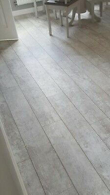 LUXURY VINYL PLANK FLOORING.                    V Groove. REDUCED TO CLEAR
