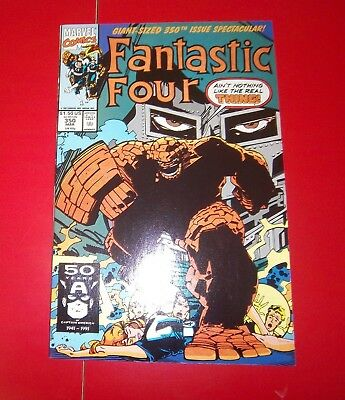Fantastic Four Vol 1 #350 Prologue - Giant Sized Issue Spectacular 1991