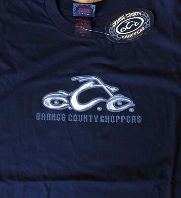 NWT Black Orange County Choppers Motorcycles T Shirt Official Mens Size XL