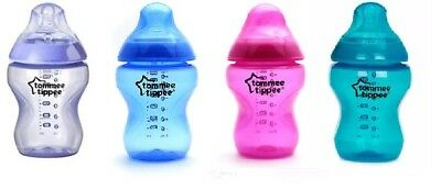 Tommee Tippee Closer to Nature Single Bottle. BRAND NEW. Pink, Blue or Purple.