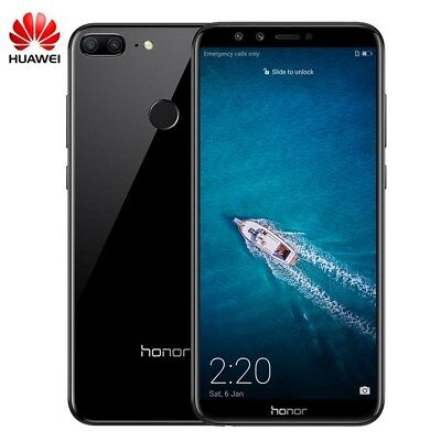 """Huawei Honor 9 Lite 4Go+64Go 5.65"""" Téléphone Android8.0 Touch ID Smartphon 4*Cam"""