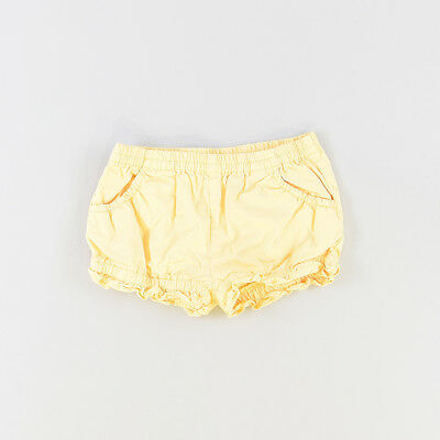 Shorts color Amarillo marca Neck & Neck 12 Meses  516332