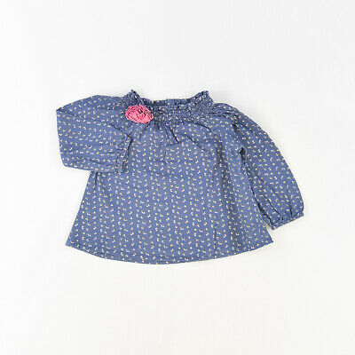 Camisa color Azul marca ZY 9 Meses  516365