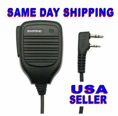 Baofeng BF-S112 Walkie Talkie Handheld Speaker Mic For UV-5R 888S Radio NEW