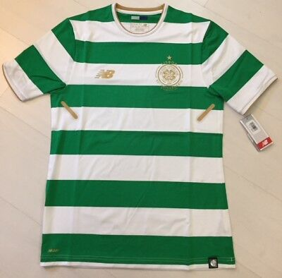 NB Celtic Football Club ELITE home shirt TIGHT FIT Player Issue No Sponsor S/S