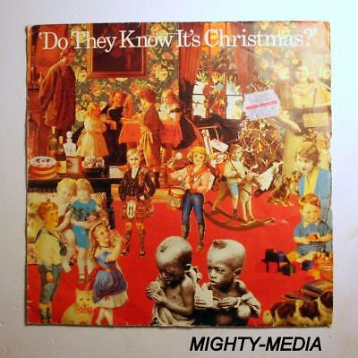 """BAND AID  - DO THEY KNOW IT'S CHRISTMAS  - 7"""" Vinyl Record : EX (p638)"""