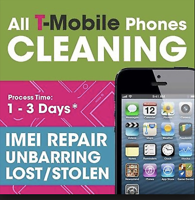 72hr USA T-Mobile Un barring/Cleaning service-All iPhone & Android Device