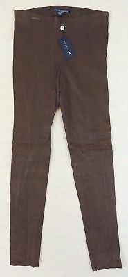 $1,298 Ralph Lauren Leather Jodhpur Equestrian Holiday Leggings Polo Pants 12 L
