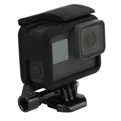 Black Protective Border Frame Case Cover Housing Mount for GoPro Hero 6/5 Camera