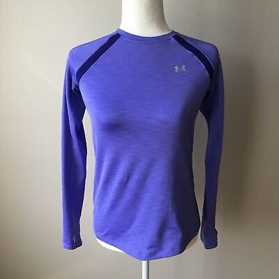 6a061cc72d875e UNDER ARMOUR COLDGEAR Women's Fitted Long Sleeve Shirt Compression ...