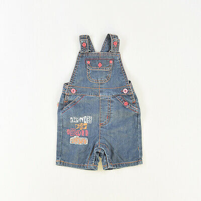 Peto color Denim oscuro marca Boboli 6 Meses  516573