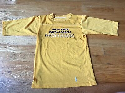 Vintage 1970's Montevideo MOHAWK Youth Sized School T-shirt Minnesota MN