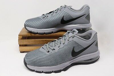 Nike Air Max Full Ride TR 1.5 Running Shoes Gray Black 869633-011 Men's NEW