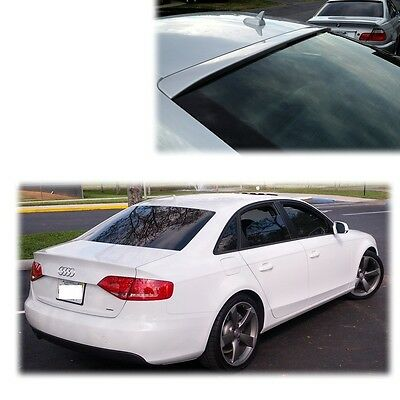 PAINTED AUDI A4 B8 4DR Rear Roof Spoiler Wing Quattro ABS 09-12 S4 3M Tape ●