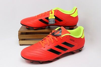 Adidas Copa 18.4 FG Firm Ground Soccer Cleats Red Black Yellow DB2456 Men s  NEW 321bf85c7