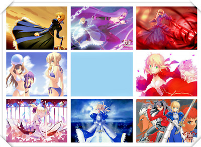 Anime Fate Stay Night Poster Hot Japan Anime Poster 16.5 x 11.25 Inch