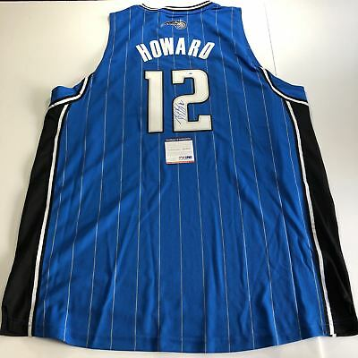 44c006f60 DWIGHT HOWARD SIGNED Autographed Orlando Magic Jersey PSA GAI Letter ...