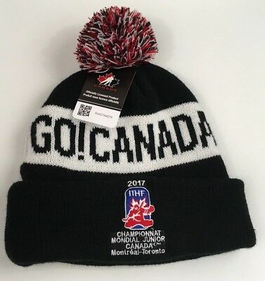 IIHF WORLD JUNIOR CHAMPIONSHIP 2017 CHAMPIONNAT MONDIAL Hockey Toque Winter Hat