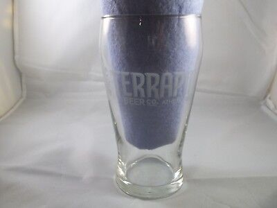 Terrapin Brewing Co. Etched Beer Pint Glass