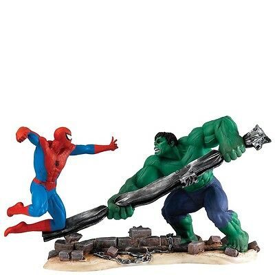 Marvel Collection Spider Man VS Hulk Aktion Figur Helden Comic-Grafik  a27606