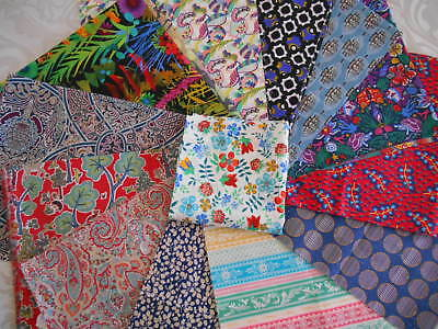 Liberty Fabric - Tana Lawn Remnant Sale- List 1 - Craft Sewing Quilting-Off Cuts
