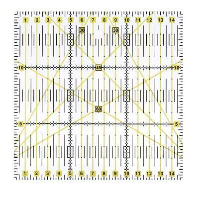 Quilting Ruler Craft Patchwork Inch Sewing Template & Rotary hot de