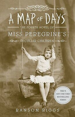 A Map of Days Miss Peregrine's Peculiar by Ransom Riggs Hardcover 9780735232143