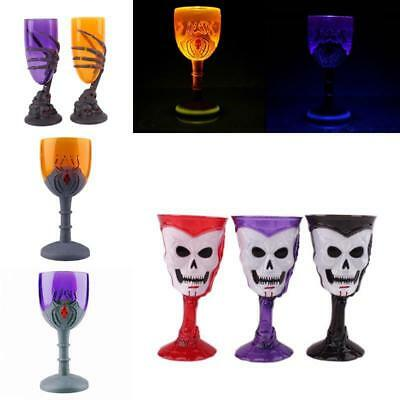 Creative Designer Ghost Claws Horror Wine Cups Plastic Party Glowing Champagne