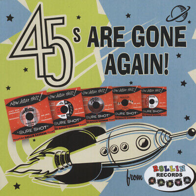 Various - 45's Are Gone Again - Rollin' Sampler, Vol.2 - Revival Rock & Roll/...