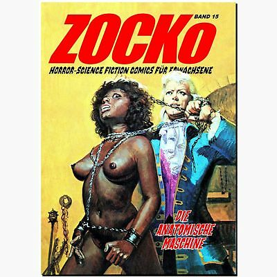 ZOCKo 15 Die Anatomische Maschine HORROR Fumetti Neri EROTIK Science Fiction NEU