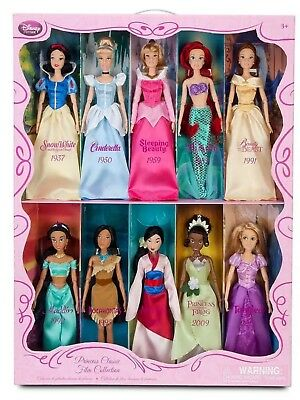 New Disney Princess Rare Classic Film Collection