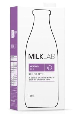 Milk Lab Macadamia Milk for Coffee (8x1L cartons)