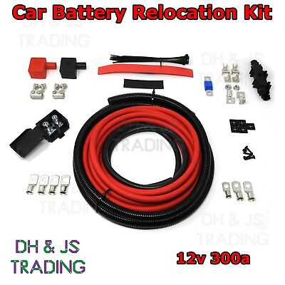 3M Car Battery Relocation Kit - Track Race Conversion Boot Racing 300a 12v