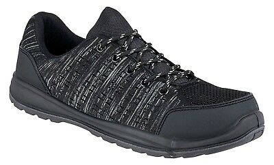 Mens Ultra Lightweight SAFETY TRAINERS Womens Work Boots Steel Toe Cap Shoe Size