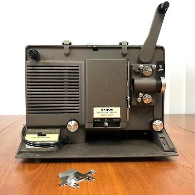 Vintage Argus Showaster 870 Super 8 Projector 8mm with Carry Case As Is