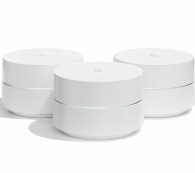 GOOGLE WiFi Whole Home System - Triple Pack - Currys