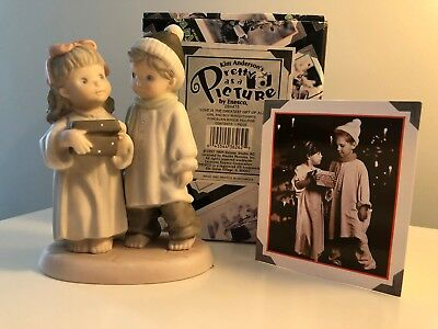 """Kim Anderson Pretty As A Picture Figurine """"Love is the Greatest Gift of All"""""""