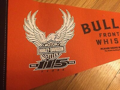 NEW Harley Davidson 115th Limited Edition Anniversary Flag Whisky Promo Official
