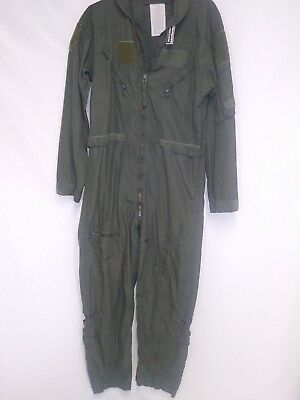 Cwu-27/p Flyers Coveralls - Sage Green Size 40R